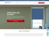 Twin Roller Blinds | Made to Measure | Blinds Direct Ltd