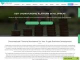 Massive profit can be raised via DeFi crowdfunding platform development services