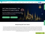 Blockchain App Factory's reliable Decentralized Finance Token Development Solution