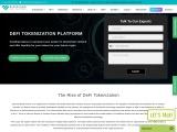Secured deFi tokenization development platform investment opportunities