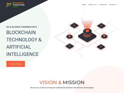 Blockchain Community – Artifical Intelligence , Blockchain Technology, Blockchain Community in India