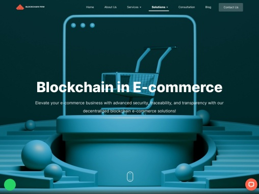 Blockchain In Ecommerce industry