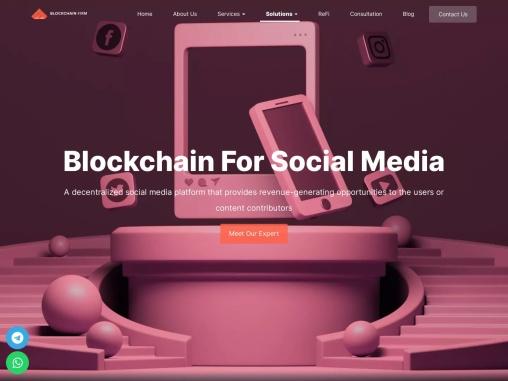 Blockchain Based Social Media Platform