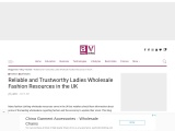 Ladies Wholesale Fashion – Best Trusty And Reliable Ladies Wholesale Fashion Resources In Uk!