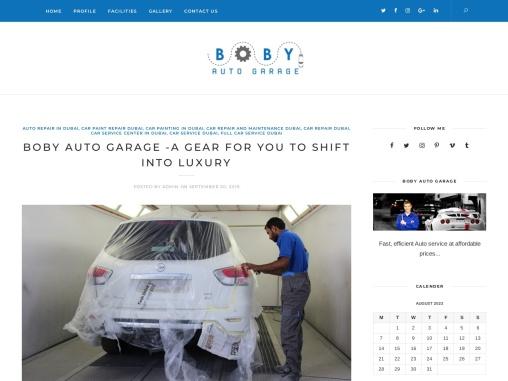# 1 Car Service Dubai- Boby Auto Garage