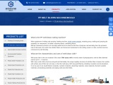 PP Melt Blown Making, Production Machine – Bogda