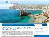 Lufthansa Booking Cheap Flight Tickets| Online Reservation