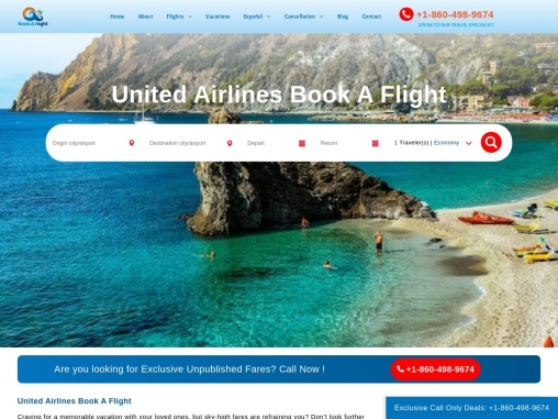United Airlines tickets & Cheap Flight Tickets