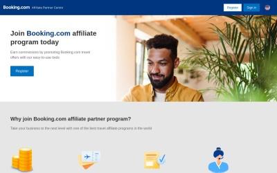 Booking.com Website Preview