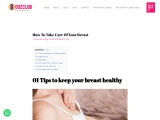 How To Take Care Of Your Breast