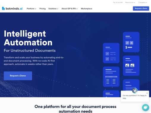 World's First Unified Platform For Intelligent Document Processing & Process Automation