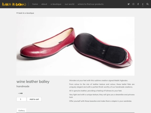 Wine Leather Balley Buy Online