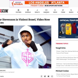 Shakur Stevenson in Violent Brawl, Video Now Surfaces - Boxing News