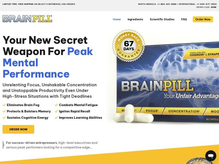 Brain Pill screenshot