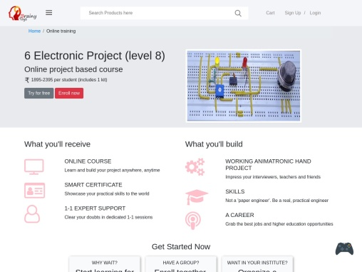 Online Smoke Detector Electronics Project Course for Students – Brainy Toys