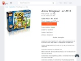 Buy Armor Kangaroo Loz-3011 Kits for Kids – Robotics Kits Price in India – Robotics Games Suppliers