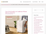 Purchasing The Best Portable Air Conditioner Without Hose