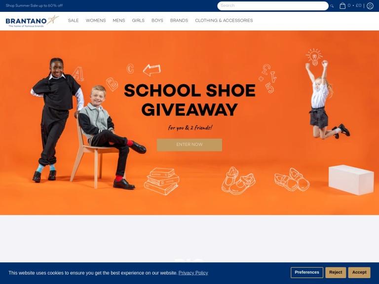 Brantano Free Delivery screenshot