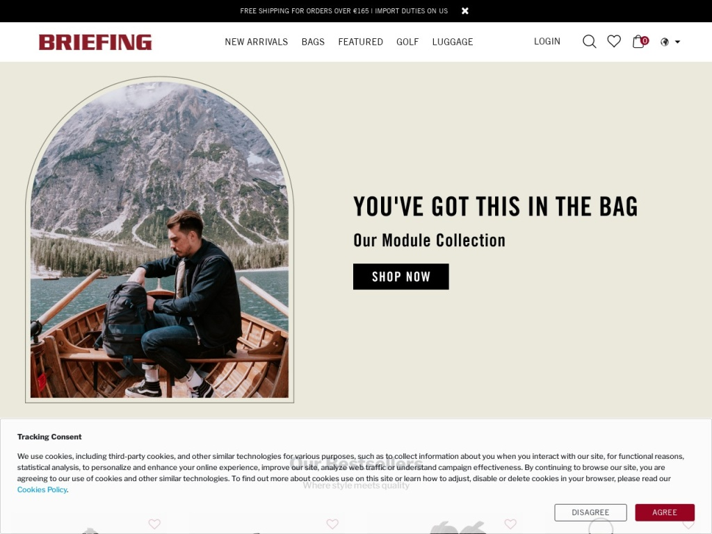 BRIEFING OFFICIAL SITE | ブリーフィング公式サイト