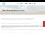 Water distribution projects contractor in Bangalore