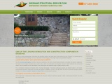 Brisbane based retaining wall construction company, established over 25 years, owner operated. We sp