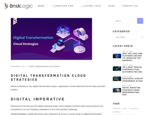 Digital Transformation Digital Transformation Consulting