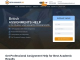 British Assignments Help – Assignment Writers online