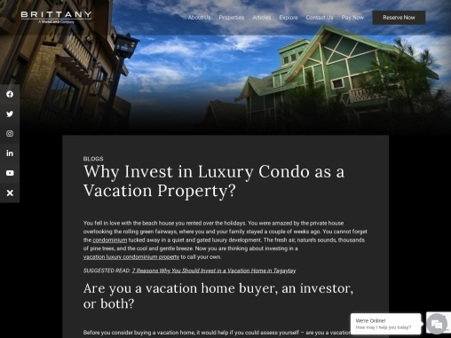 Should You Invest in Luxury Condo as a Vacation Property?