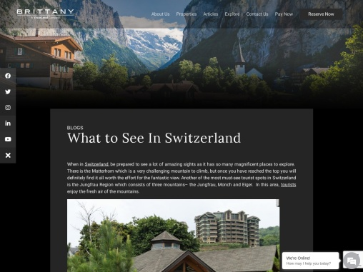 What to See In Switzerland   Luxury Homes by Brittany Corporation