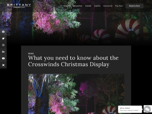 What you need to know about the Crosswinds Christmas Display