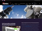 BROADCASTING FM TRANSMITTER FROM 20W TO 40KW ELETEC BROADCAST