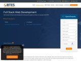 Best Online Full Stack Web Development Courses Available at BTES