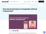 How do Ecommerce Companies Attract Customers?