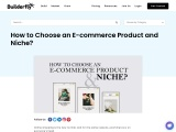 How to Choose an E-commerce Product and Niche?