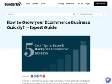 How to Grow your Ecommerce Business Quickly? – Expert Guide