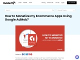 How to Monetize my Ecommerce Apps Using Google AdMob?