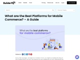 What are the Best Platforms for Mobile Commerce? – A Guide