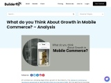 What do you Think About Growth in Mobile Commerce? – Analysis