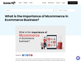 What is the Importance of Mcommerce in Ecommerce Business?