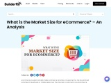 What is the Market Size for eCommerce? – An Analysis