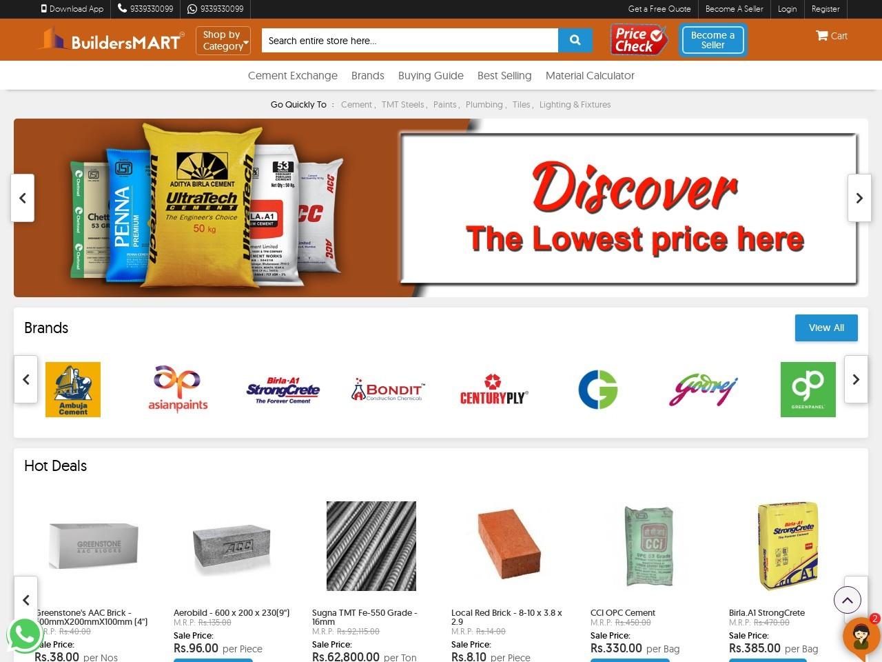 Buy Parasakti Cement Online At Best price