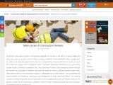 Construction site safety   construction safety tips