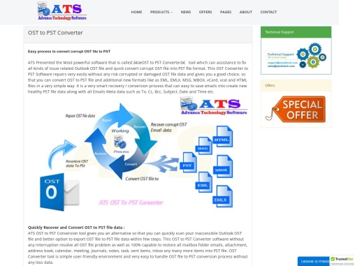 online free OST to PST converter