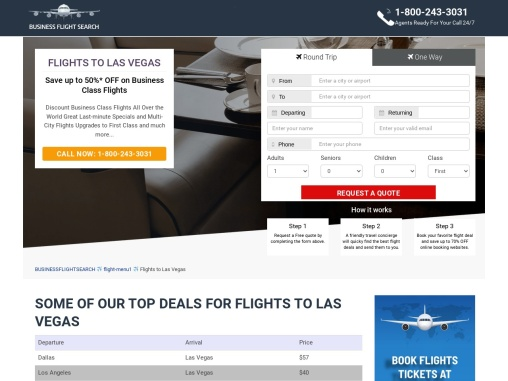 Delta Airlines Booking to Las Vegas