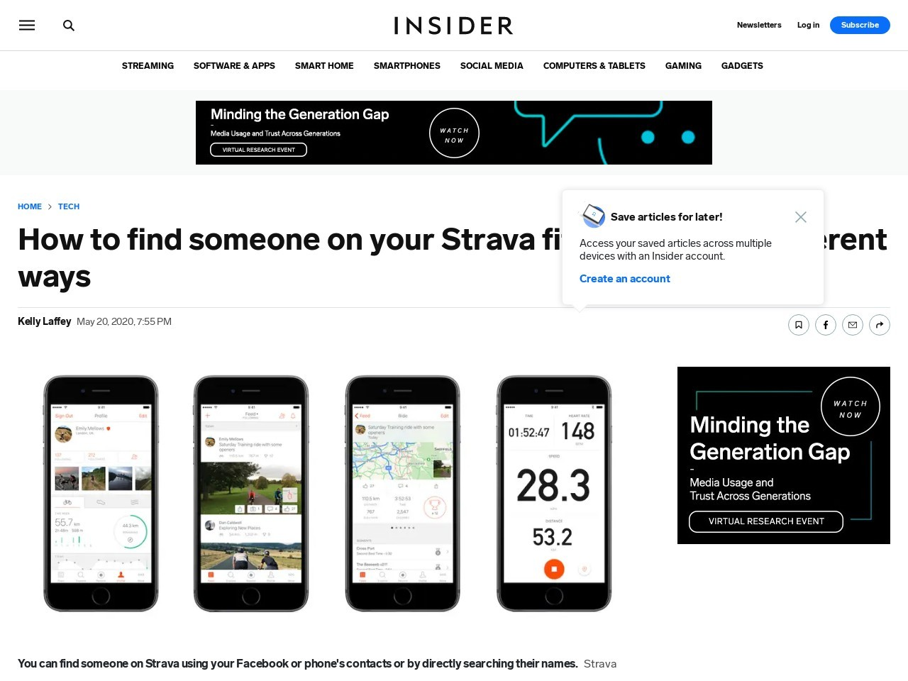 How to find someone on your Strava fitness app in 3 different ways