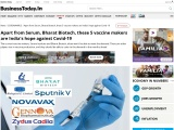Apart from Serum, Bharat Biotech, these 5 vaccine makers are India's hope against Covid-19