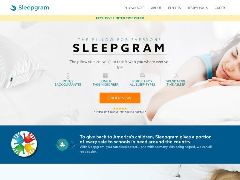 SleepGram Pillow screenshot
