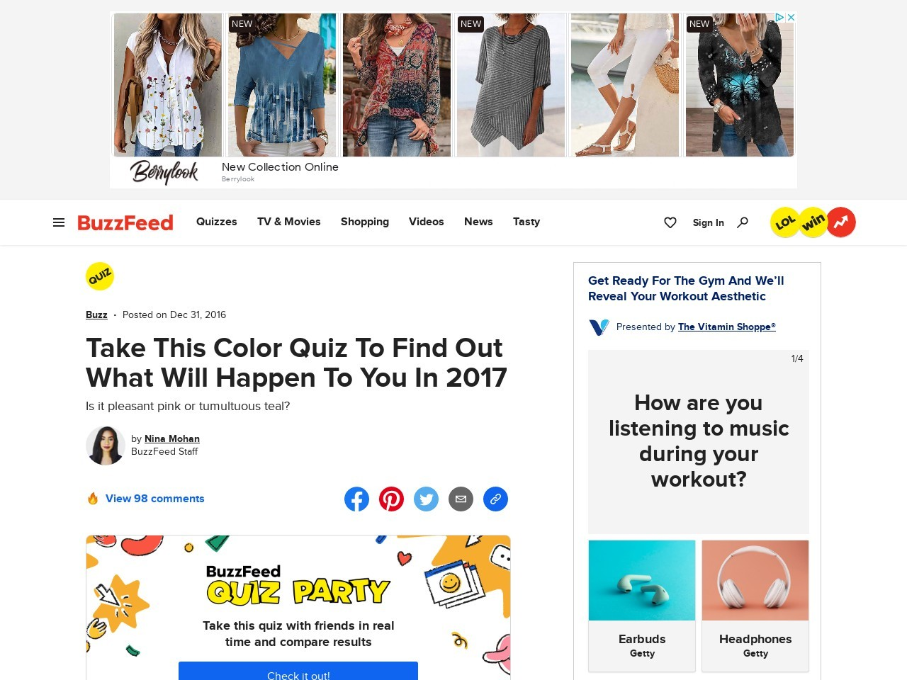 This Color Test Will Predict Your 2017 Future