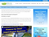 Import Finance Facility for Importers