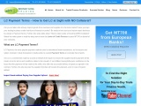 LC Payment Terms – LC at Sight – LC Providers in Dubai